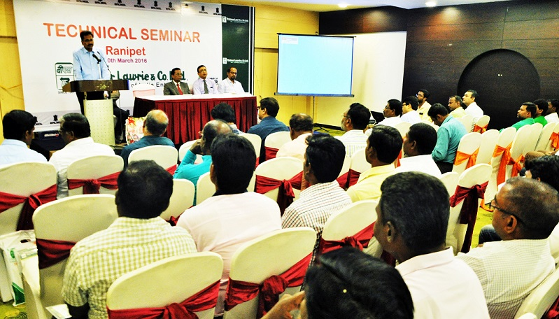 Technical Seminar on new products at Ranipet