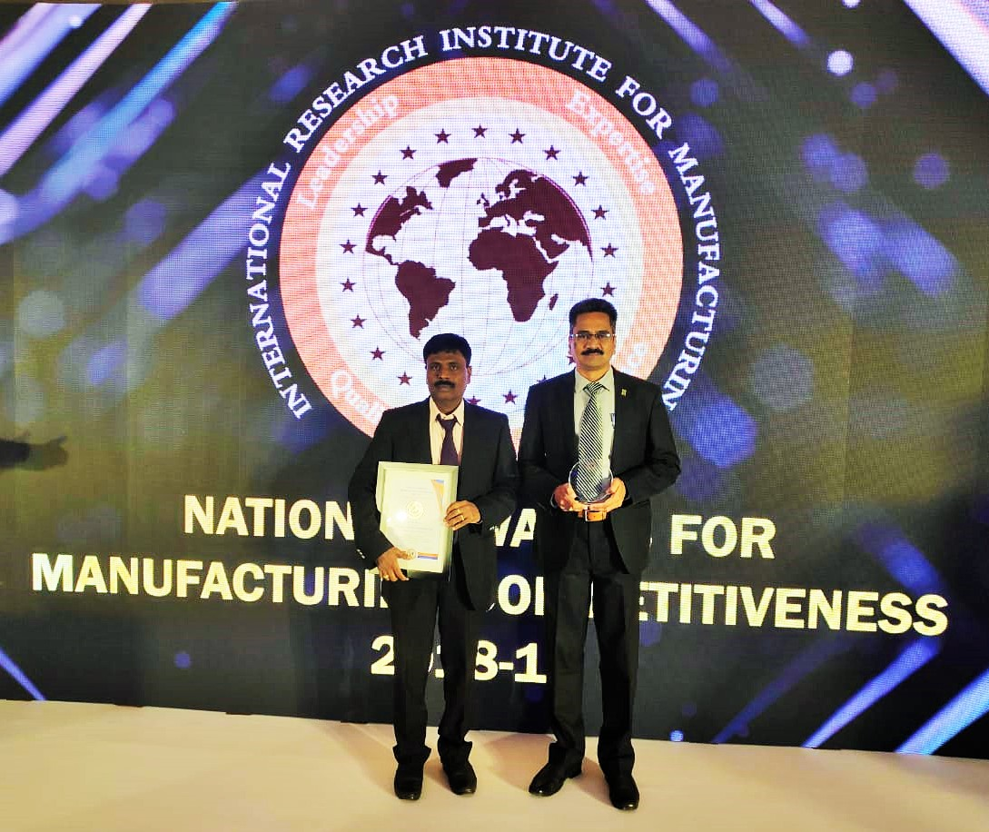 National Award for Manufacturing Competitiveness 2018-19