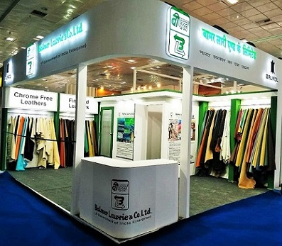 BL Exhibited in India International Leather Fair 2020